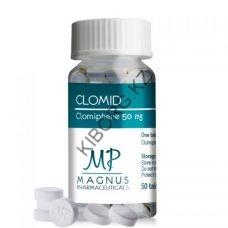 Кломид Magnus (50мг/50таб Индия)