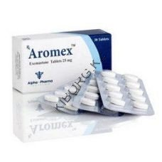 Экземестан (AROMEX) Alpha Pharma 30 таб (1 таб 25 мг)