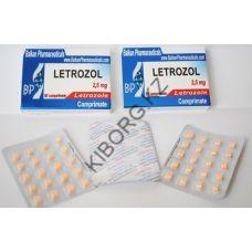 Летрозол Balkan 20 таблеток (1таб 2.5 мг)