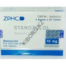 Станозолол (Stanozolol) ZPHC 100 таблеток (1таб 10 мг)