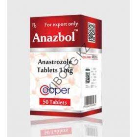Анастрозол Cooper 50 таблеток (1таб 1 мг) Индия