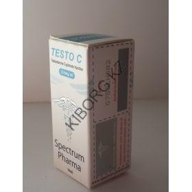 Тестостерон ципионат (Testo C) Spectrum Pharma балон 10 мл (250 мг/1 мл)