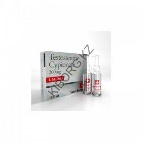 Swiss Remedies Тестостерон Ципионат (200мг/10 ампул Швейцария)