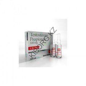 Тестостерон Пропионат Swiss Remedies (100мг/10 ампул Швейцария)